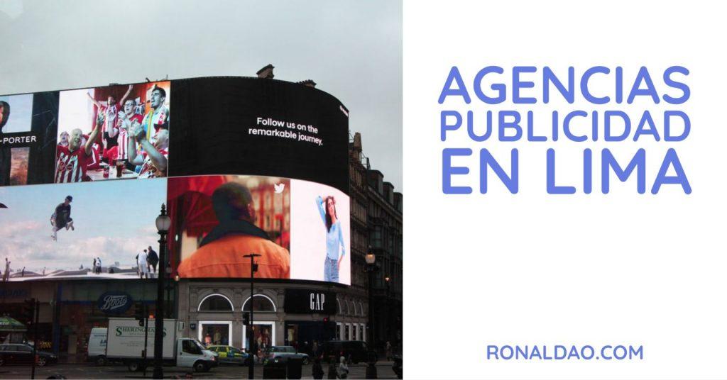 Agencias de Publicidad en LIma