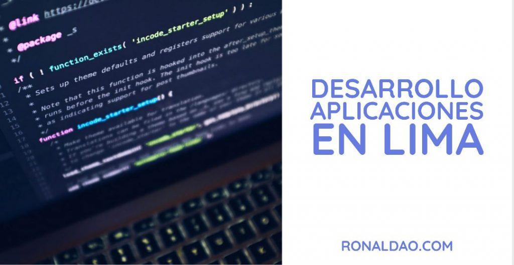 Desarrollo de Aplicaciones en Lima