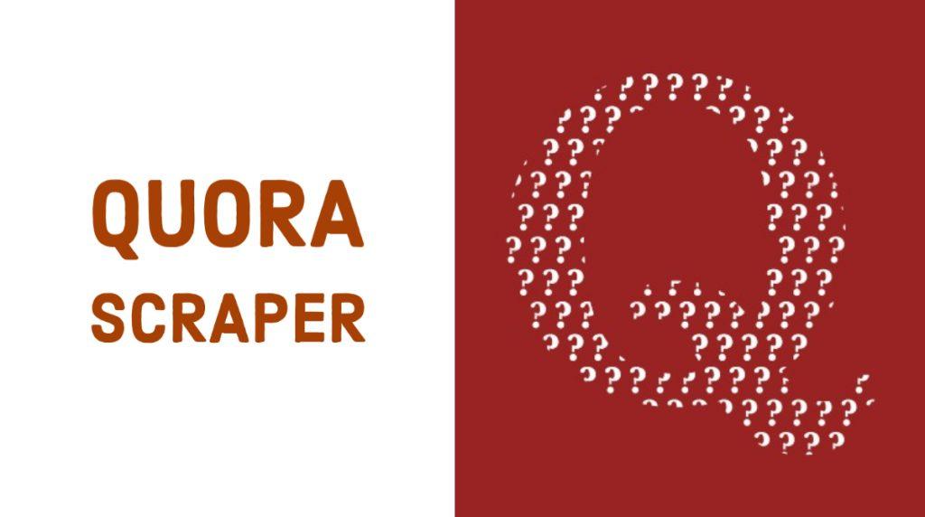 quora scraper